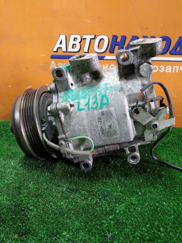 Компрессор кондиционера Honda Fit GE6 L13A 2008 HSK-70