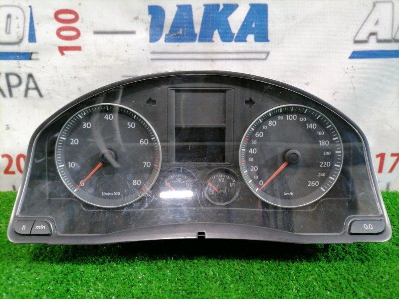 Щиток приборов Volkswagen Jetta 1K2 BVY 2005 1K0920863A АКПП, с аукционного авто пробег 75 т.км, есть