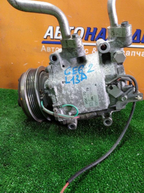 Компрессор кондиционера Honda Fit GE6 L13A 2010 HSK-70