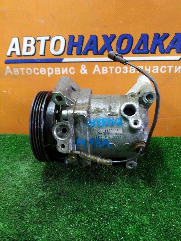 Компрессор кондиционера Suzuki Swift HT51S M13A 03.2004 95201-69GC0