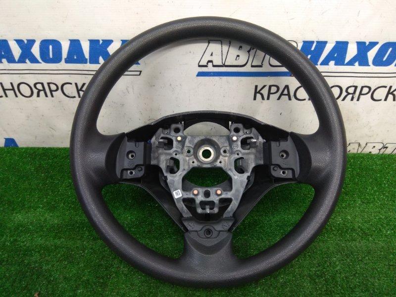 Руль Suzuki Alto HA36S R06A 2014 ХТС, без Airbag, черный