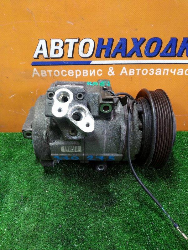 Компрессор кондиционера Honda Odyssey RA6 F23A 2000 447220-3692