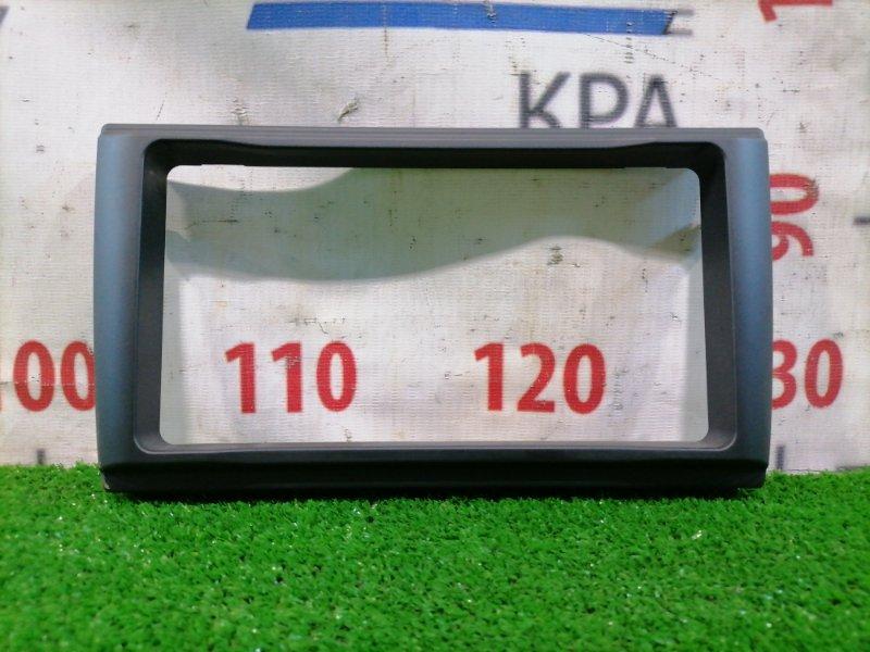 Консоль магнитофона Audi A4 B7 BWE 2004 облицовка для 2DIN магнитолы