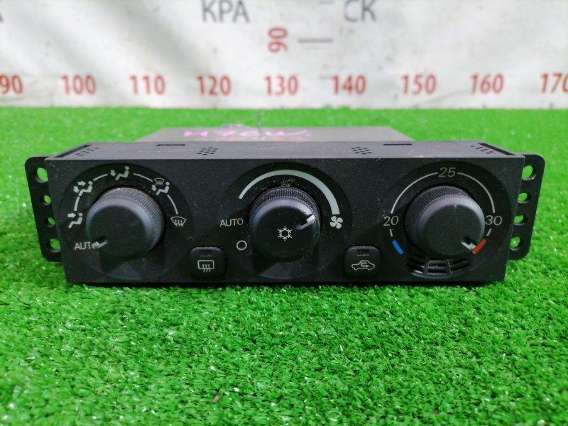 Климат-контроль Mitsubishi Pajero Io H76W 4G93 1998 MR460827 электронный на две фишки