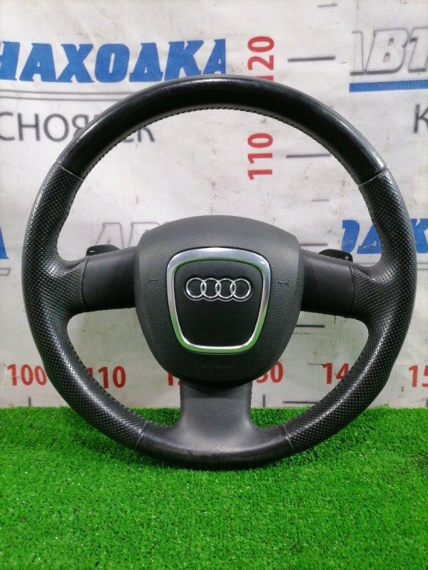 Airbag Audi A4 B7 BWE 2004 Водительский, с рулём, с лепестками, кожа, без заряда. Есть