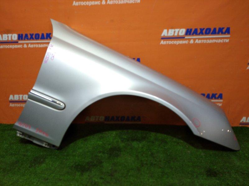 Крыло Mercedes-Benz C240 W203 112.912 03.2001 переднее правое цвет 744U есть сколы лкп