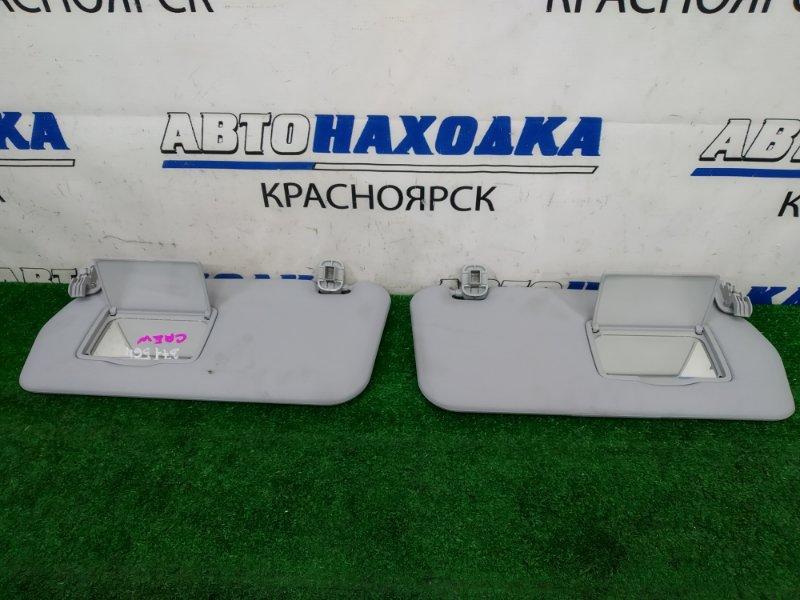 Козырек солнцезащитный Mazda Premacy CREW LF-DE 2005 пара, левый + правый, с зеркалами