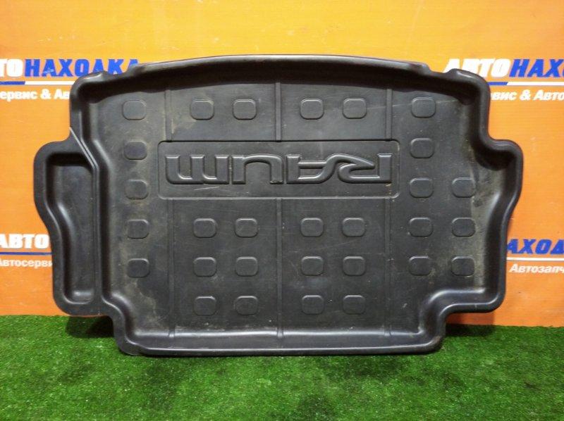 Коврик багажника Toyota Raum NCZ20 1NZ-FE 2003 резинопластик