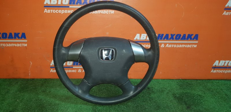 Руль Honda Stream RN1 D17A 2000 4 спицы+airbag без заряда