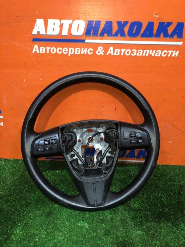 Руль Mazda Axela BLEFP LF-VDS 2009 3 спицы+кнопки