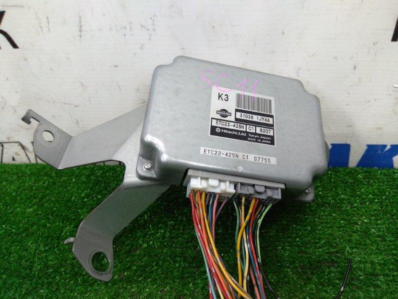 Компьютер Nissan Tiida Latio SC11 HR15DE 2008 блок управления CVT