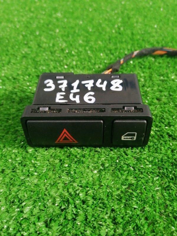 Кнопки в салон Bmw 320I E46 M54 B22 2001 аварийной сигнализации и блокировки стекол