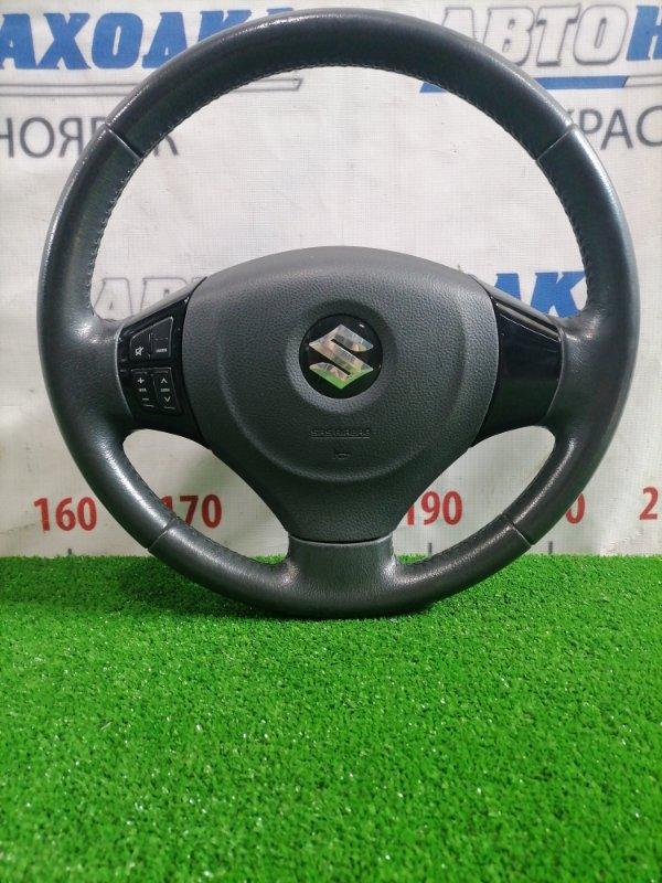 Airbag Suzuki Solio MA15S K12B 2010 Водительский, с подушкой без заряда, рулем (мультируль), кожа