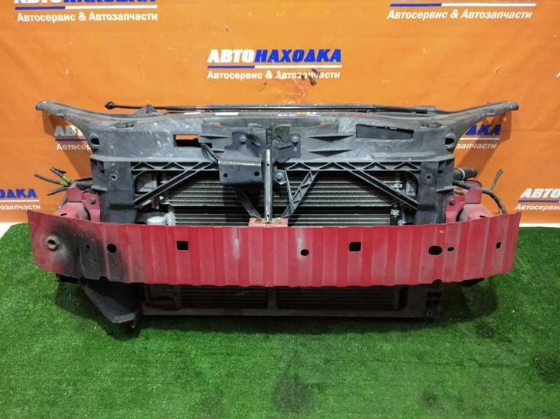 Рамка радиатора Mazda Axela BK5P ZY-VE 2003 +усилитель красный+замок капота+радиатор