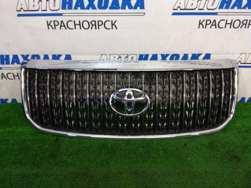 Решетка радиатора Toyota Crown Majesta UZS186 3UZ-FE 2006 2 модель (рестайлинг), хром ОК, сломана