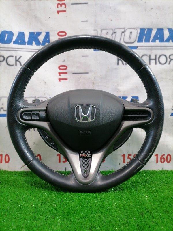 Airbag Honda Stream RN8 R20A 2006 ХТС. Водительский, с подушкой без заряда, рулем (мультируль),