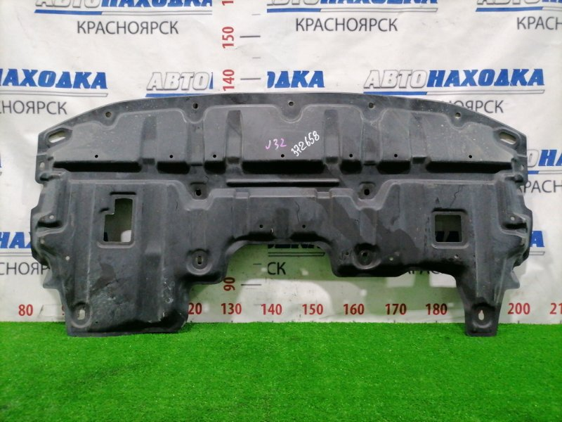 Защита двс Nissan Teana J32 VQ25DE 2008 передняя 75892JN20A Передняя, сплошная