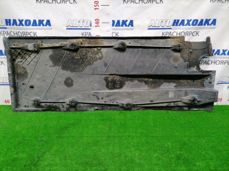 Защита Volkswagen Jetta 1K2 BVY 2005 левая нижняя 1K0825211E Защита днища, левая, есть две трещины