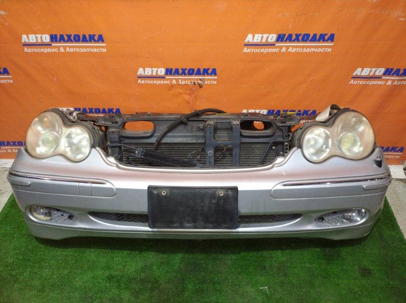 Ноускат Mercedes-Benz C240 W203 112.912 03.2001 цвет 744U бампер под покраску+туманки+антенна