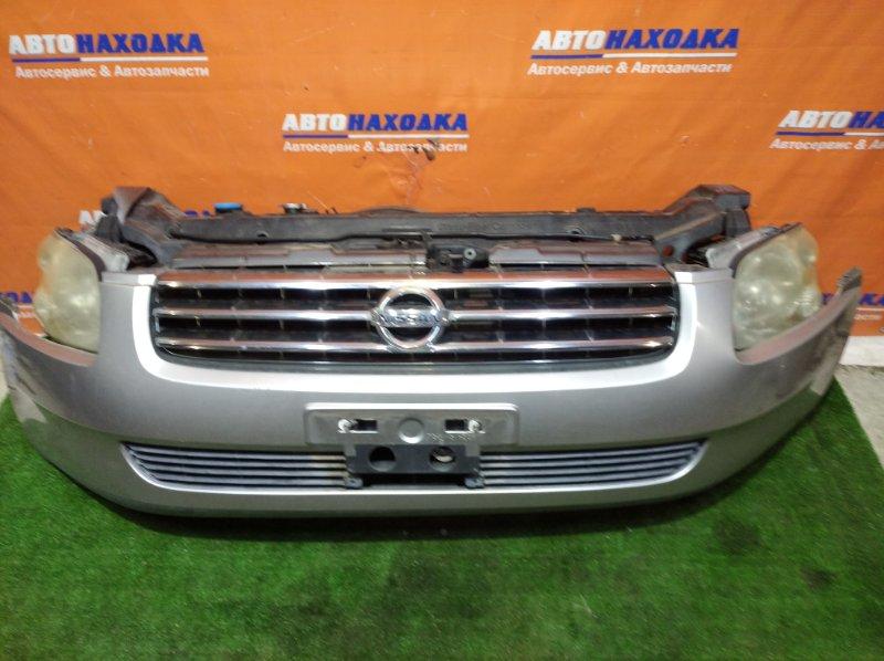 Ноускат Nissan Stagea M35 VQ25DD 2001 100-63635 цвет KY0 1 мод бампер дефект ЛКП под покраску+решетка