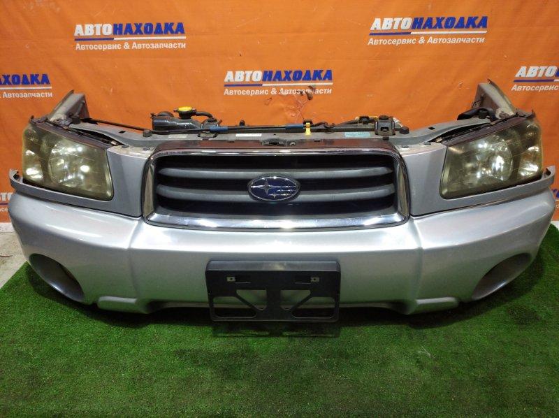 Ноускат Subaru Forester SG5 EJ20 2002 1 мод бампер под покраску+туманки+решетка