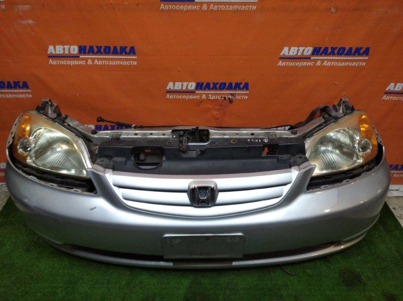 Ноускат Honda Civic Ferio ES2 D15B 2000 цвет NH623M 1мод бампер под покраску+решетка
