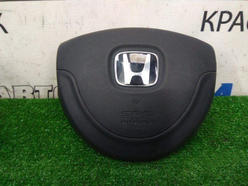 Airbag Honda Life JB5 P07A 2003 водительский, в руль, с подушкой, без заряда, черный