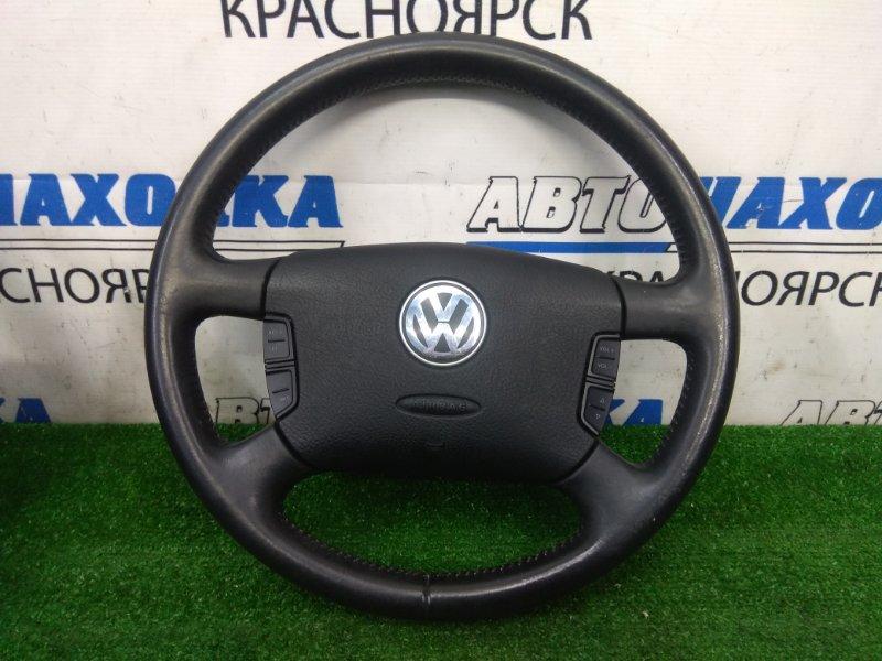 Airbag Volkswagen Passat B5.5 AMX 2000 водительский, с рулем, с подушкой, без заряда, кожаный,