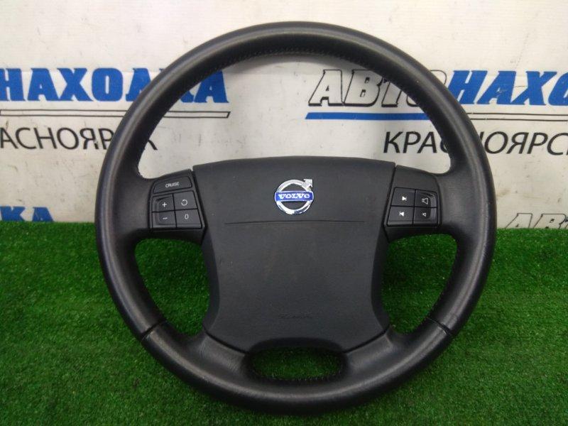 Airbag Volvo S80 AS98 B6324S 2006 водительский, с рулем, с подушкой, без заряда, кожаный,