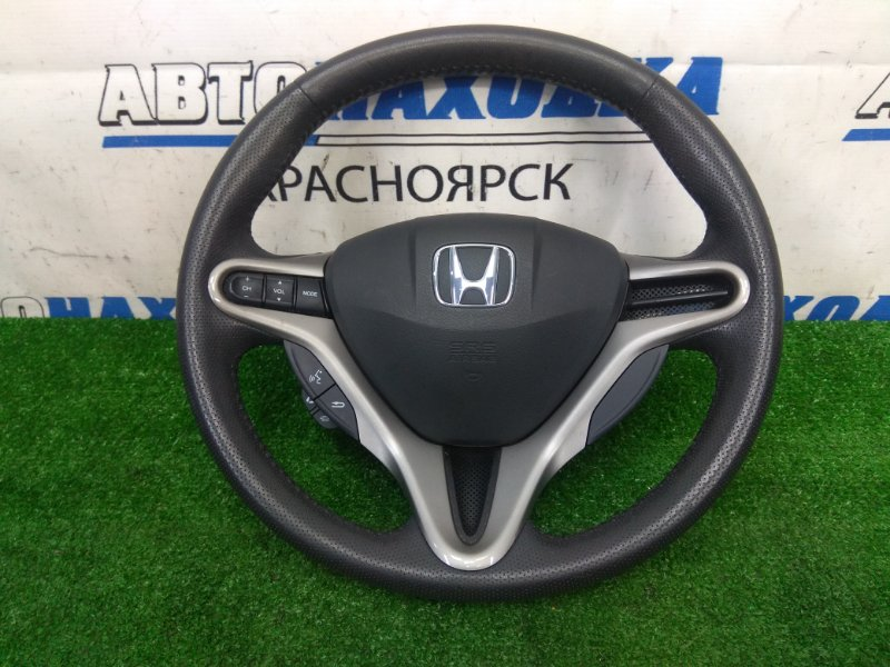 Airbag Honda Civic FD1 R18A 2005 водительский, с рулем, с подушкой, без заряда, кожаный,