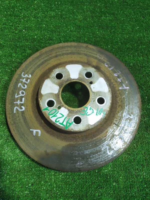 Диск тормозной Toyota Carina AT210 4A-GE 08.1998 передний Ф275, T23,
