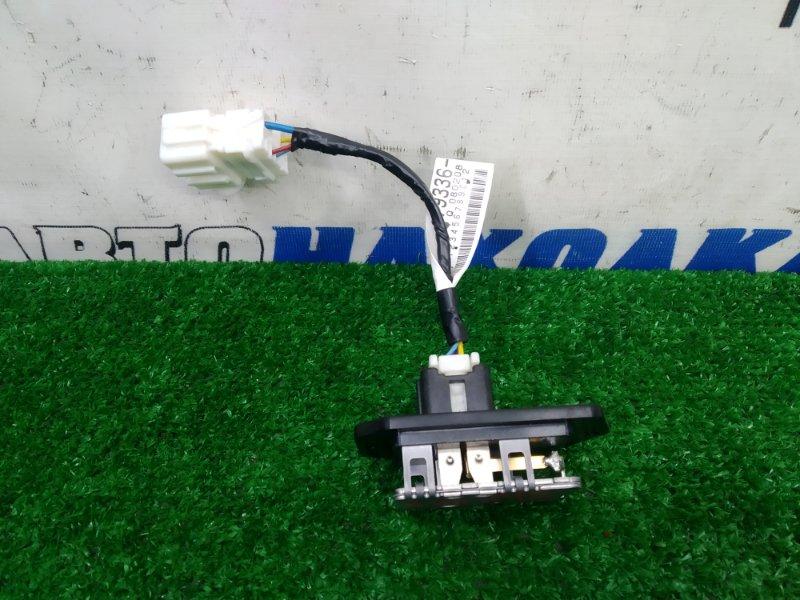 Реостат печки Honda Fit GE6 L13A 2007 4 контакта, с фишкой