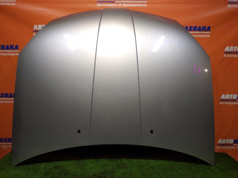 Капот Nissan Wingroad WFY11 QG18DE 2001 2 мод. цвет KY0 угол загнут/под покраску