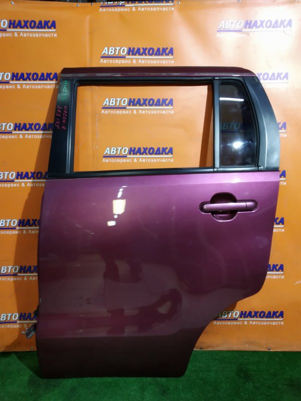 Дверь Suzuki Wagon R MH23S задняя левая В СБОРЕ