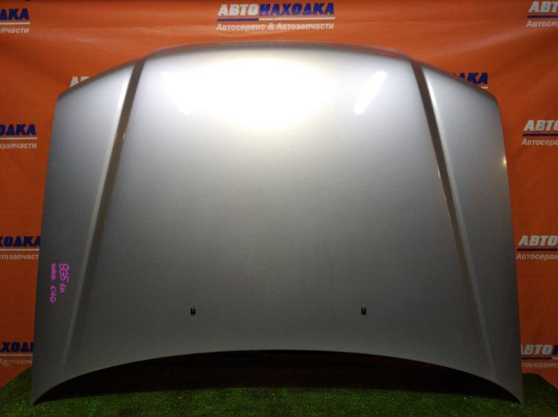 Капот Subaru Forester SG5 EJ20 2002 AL цвет 01G 1 мод ХТС есть небольшие потертости