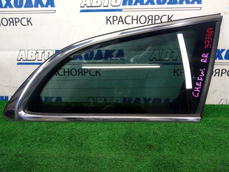 Стекло собачника Mazda Atenza GHEFW LF-VD 2010 заднее правое заднее правое, заводская тонировка,