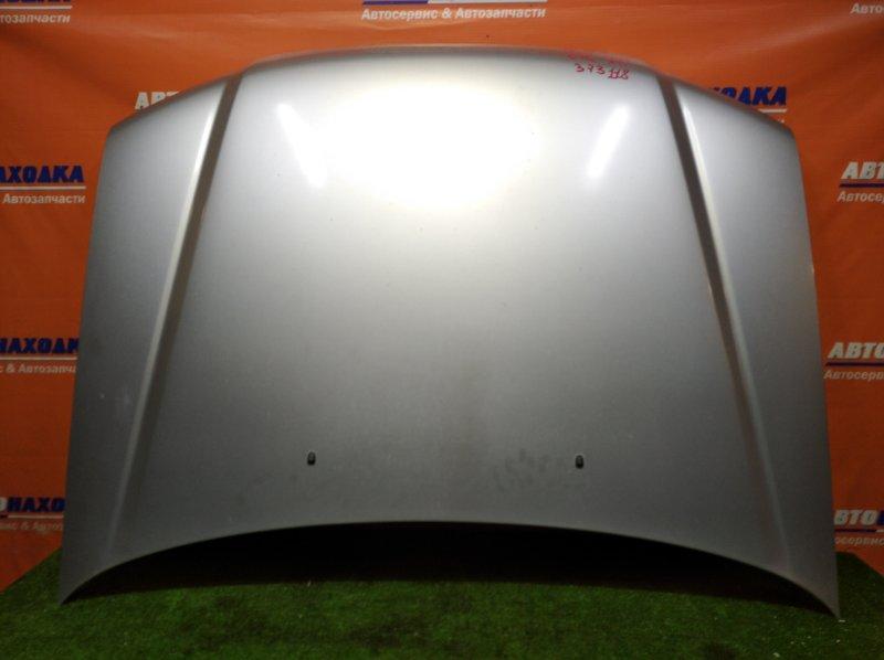 Капот Subaru Forester SG5 EJ20 2002 AL цвет 01G 1 мод. дефект ЛКП