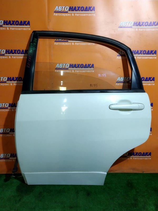 Дверь Suzuki Aerio RC51S M18A 03.2005 задняя левая В СБОРЕ