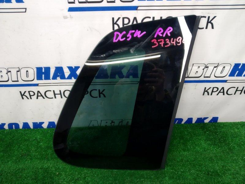 Стекло собачника Mazda Verisa DC5W ZY-VE 2006 заднее правое заднее правое, заводская тонировка