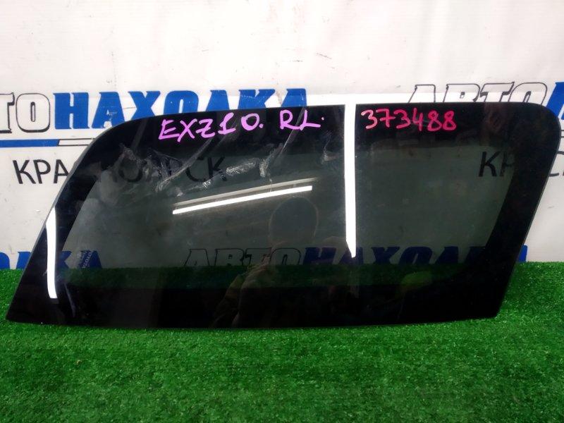 Стекло собачника Toyota Raum EXZ10 5E-FE 1999 заднее левое заднее левое, заводская тонировка