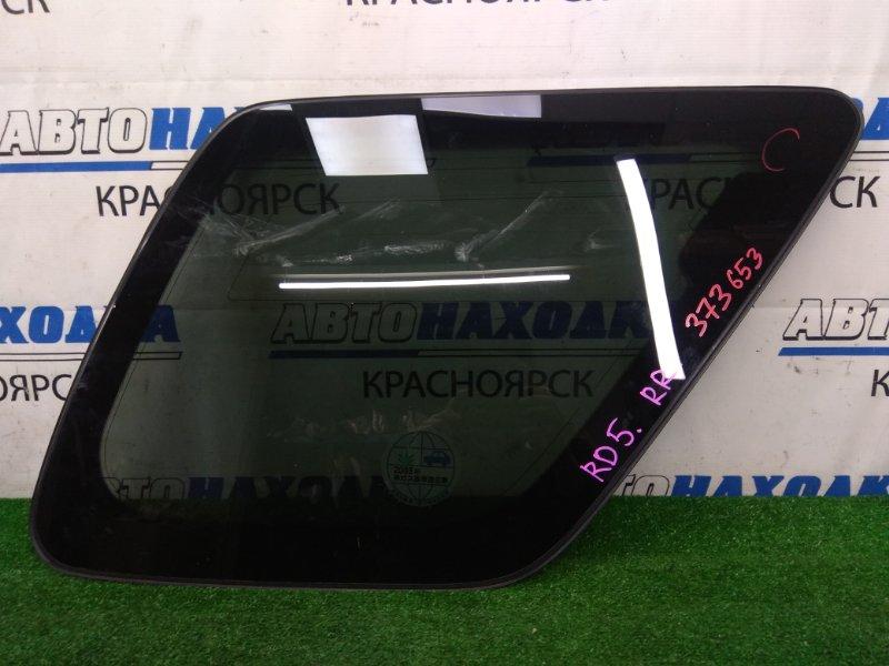 Стекло собачника Honda Cr-V RD5 K20A 2001 заднее правое заднее правое, заводская тонировка