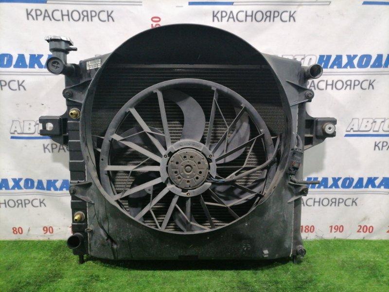 Радиатор двигателя Jeep Grand Cherokee WJ40 ERH 1998 В сборе, с трубками АКПП, вентилятором,