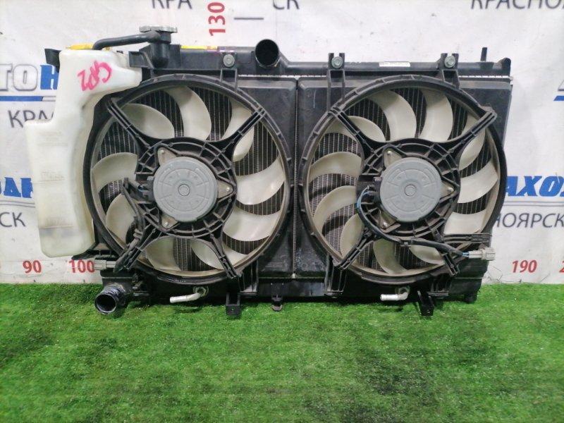 Радиатор двигателя Subaru Impreza GP2 FB16 2011 45119AG000 В сборе, с трубками CVT, диффузорами,
