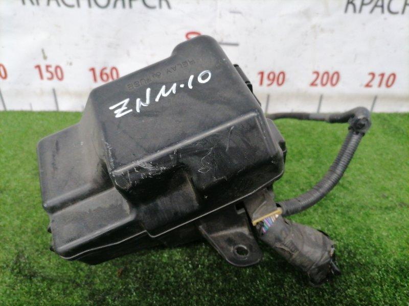 Блок предохранителей Toyota Isis ZNM10W 1ZZ-FE 2007 подкапотный, в сборе.