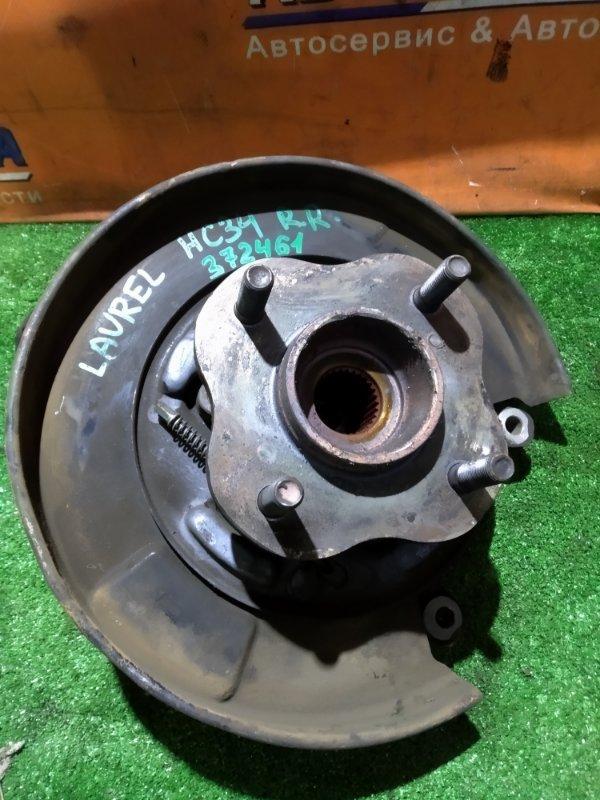 Ступица Nissan Laurel HC34 RB20E 03.1995 задняя правая