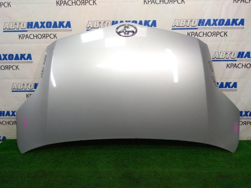 Капот Toyota Passo Sette M502E 3SZ-VE 2008 передний ХТС. Серебристый (1E7)
