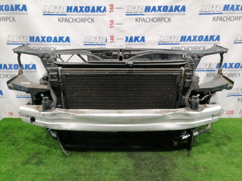 Рамка радиатора Audi A4 B7 BWE 2004 8E0805594E В сборе, пластиковая, с радиаторами, диффузором,