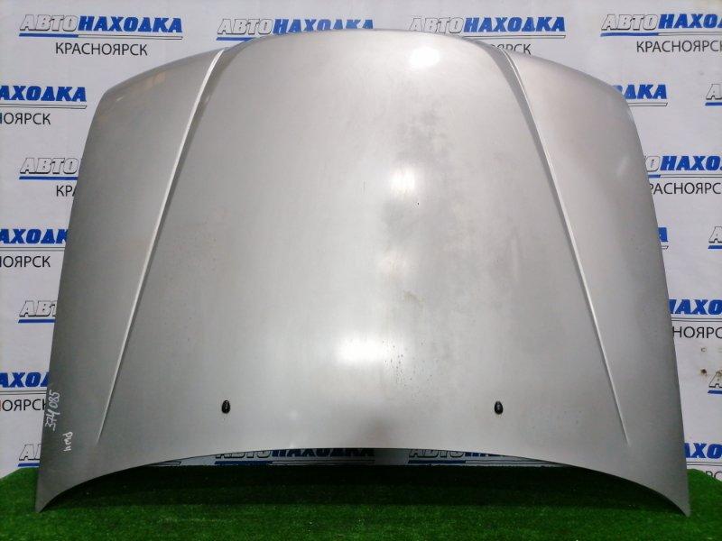 Капот Nissan Avenir PW11 SR20DE 1998 передний цвет KR4, есть дефект ЛКП (вздутие краски)