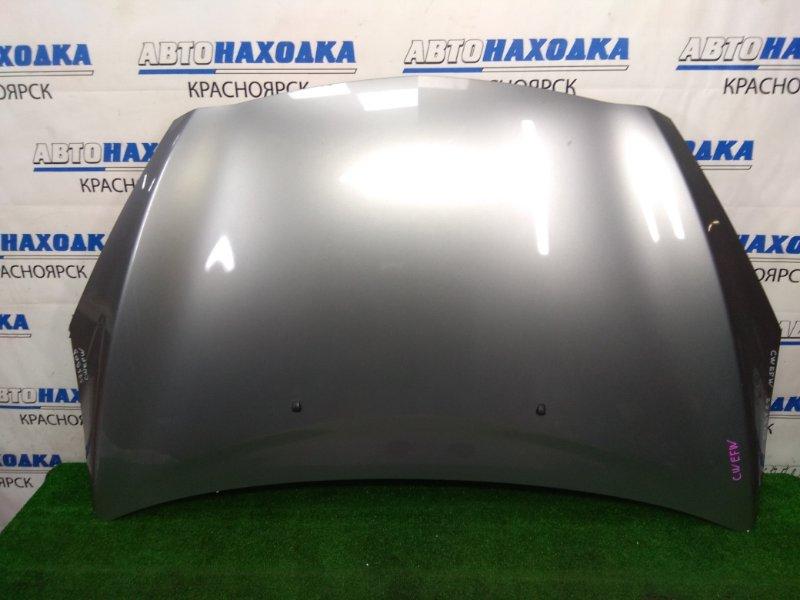 Капот Mazda Premacy CWEFW LF-VDS 2010 передний В целом ХТС, серый, есть 1 скол - подкрашивался