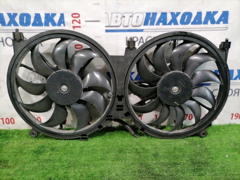 Вентилятор радиатора Nissan Teana J32 VQ25DE 2008 21481JN20A Диффузор с вентиляторами